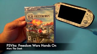 PSVita: Freedom Wars Hands On (US Version)