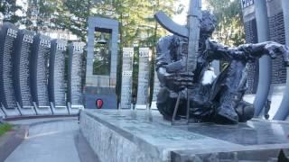 Маршрут1717 ролик 3 Памятник погибшим  войне на Афганистане и Чечни