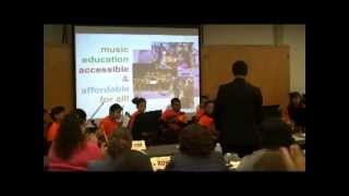 Community Opus Project perform at Chula Vista Elementary School District Meeting