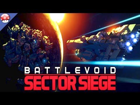Battlevoid Sector Siege Gameplay (PC)