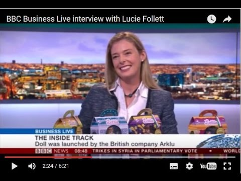 BBC Business Live interview with Lucie Follett