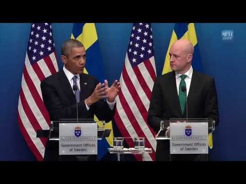 President Obama and Prime Minister Reinfeldt Hold a Press Conference
