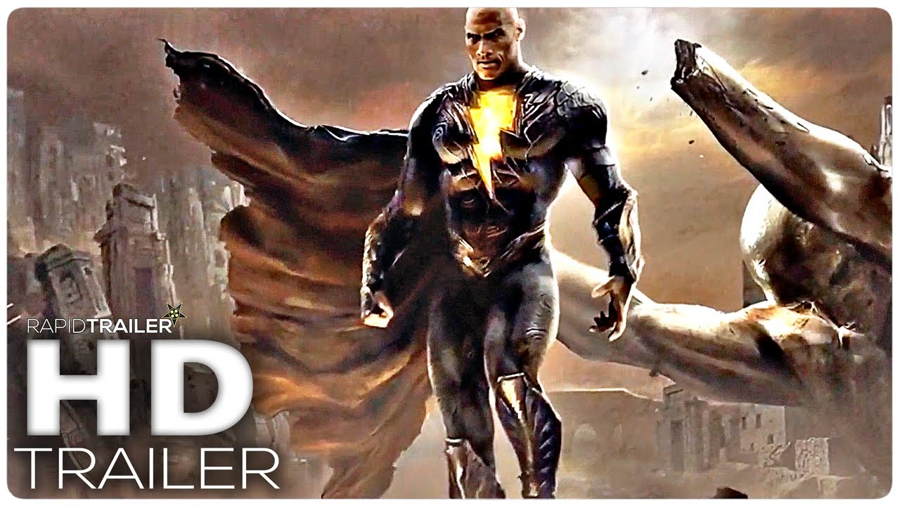 BLACK ADAM Teaser Trailer (2021) Dwayne Johnson, Superhero Movie HD
