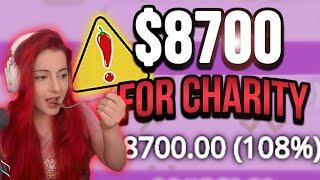 AnnieFuchsia Raises $8700 For Charity and EATS TABASCO!