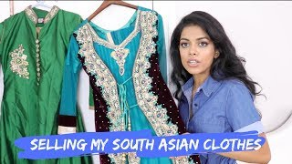 SELLING MY SOUTH ASIAN CLOTHES | POSHMARK SALE | SHARIFA EASMIN