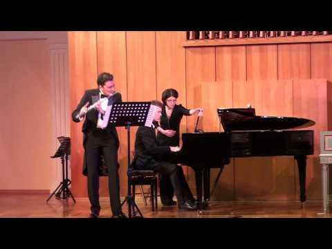 "Sergey Chechetko - ""Finno-Ugric tunes"" for flute and piano"