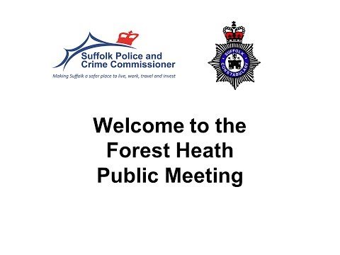 Suffolk PCC & Chief Constable Tour 2014 (Forest Heath) 19th June