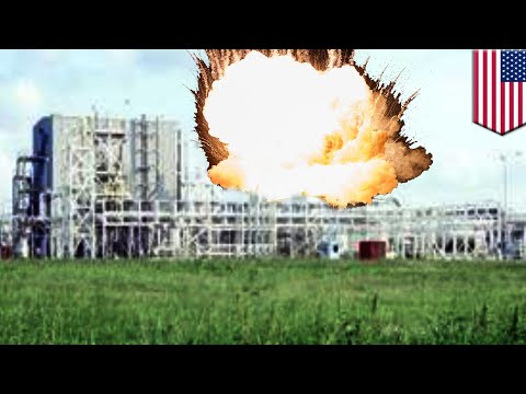 Chemical plant explosion: Blasts hit storm-ravaged Texas chemical plant - TomoNews