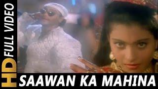 Sawan Ka Mahina Shadi Bina Mushkil Hai Jeena | Vinod Rathod, Alisha Chinai | Hulchul 1995 Songs