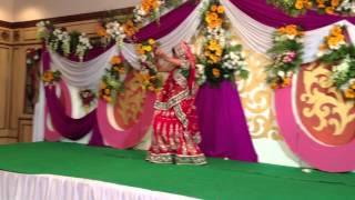 Repeat youtube video Chotu Bhaiya Bhabhi(Poorvi) Dance Sangeet Sandhya 19 Jan 2013