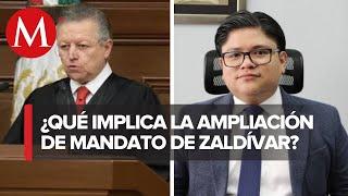 Senado amplía plazo de Arturo Zaldívar a SCJN: Gibran Ramírez