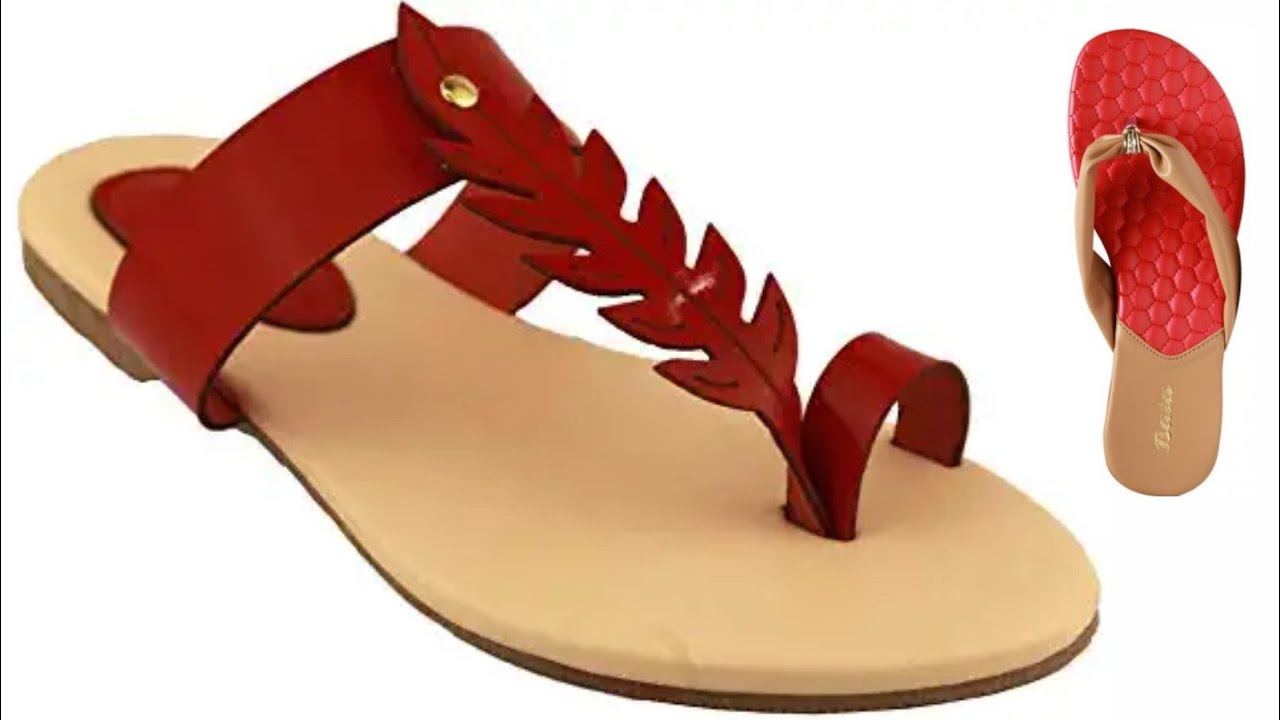 ladies chappal slippers election 2020