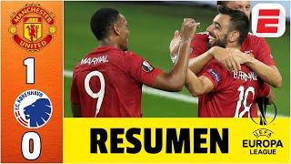 Manchester United 1-0 Copenhagen | RESUMEN UEL | Pogba, Martial y Mata en semis de la Europa League