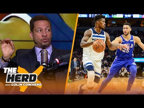 Chris Broussard on Jimmy Butler's trade to the 76ers, talks Melo's decline | NBA | THE HERD