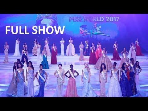 Miss World 2017 FULL SHOW
