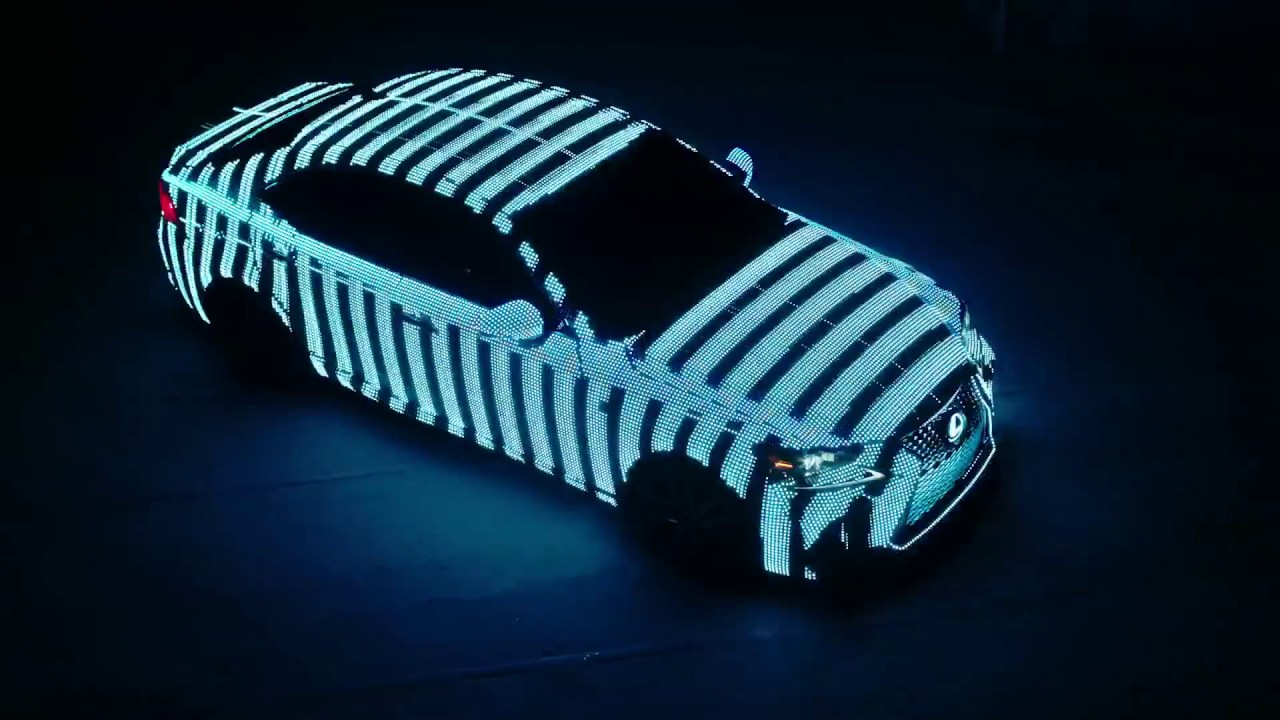 lexus led wrapped car youtube. Black Bedroom Furniture Sets. Home Design Ideas