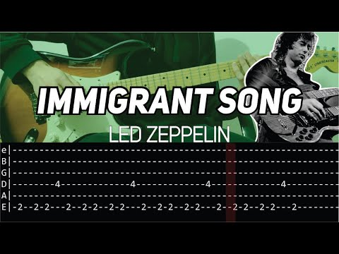 led-zeppelin---immigrant-song-(guitar-lesson-with-tab)