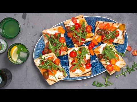 pain-grillé-avec-tomates-–-migusto-recette