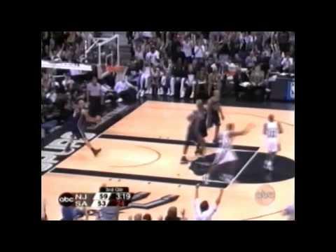 2003 NBA Finals - New Jersey vs San Antonio - Game 6 Best Plays
