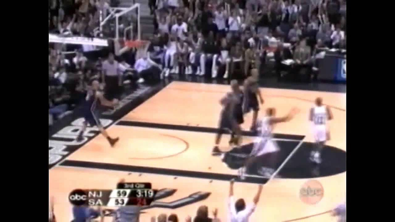 f0ad92778ff 2003 NBA Finals - New Jersey vs San Antonio - Game 6 Best Plays - YouTube
