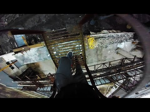 Semi-Abandoned Factory Escape | POV