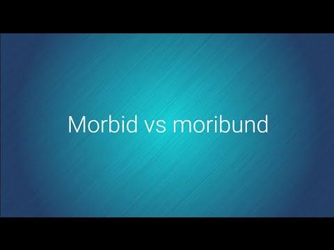 Morbid vs Moribund - Grammarist.com Official Youtube channel.