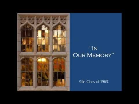 Chapter XII - Yale 1963 PhotoAlbum - Thank yous, Credit, In Memoriam, Futures