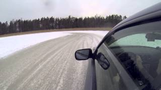Subaru Legacy 3.0R Spec B on ice track