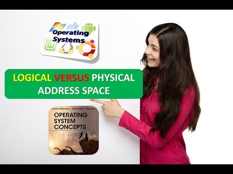 LOGICAL VERSUS PHYSICAL ADDRESS SPACE IN OPERATING SYSTEMS