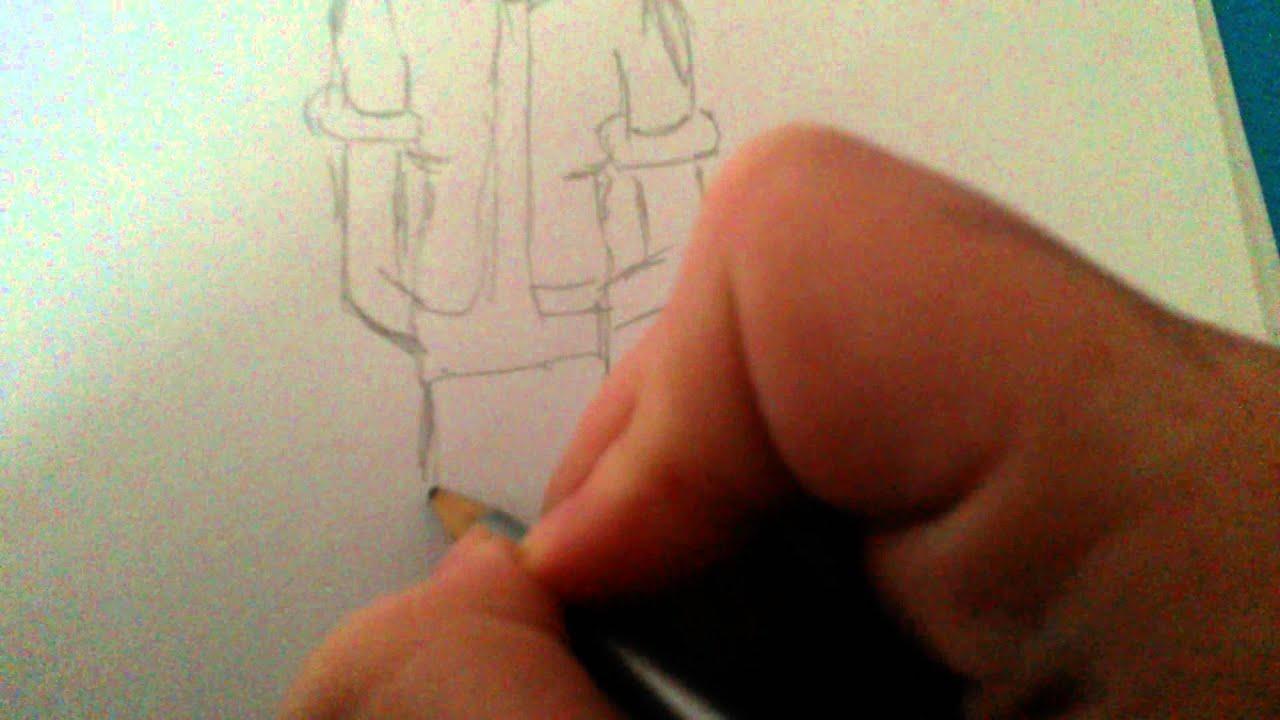 Manga - Körper zeichnen - YouTube