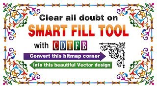 Smart fill tool= all doubts answer in coreldraw x7 | with cdtfb