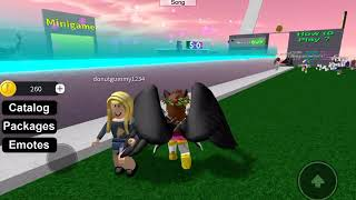 "Try all animations roblox song ""caramelldansen & him and I"""