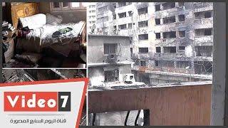 حقيقة الشقة المحصنة ضد حريق عقارات الرويعى
