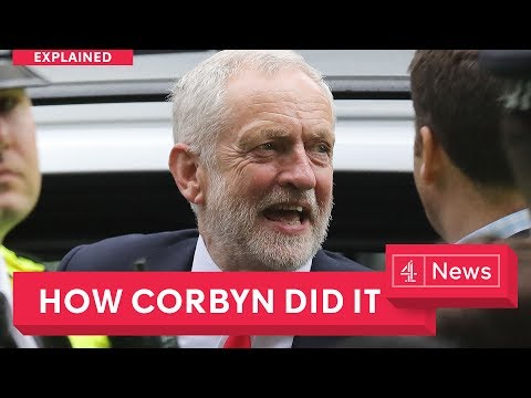 Jeremy Corbyn's surprise UK election success, explained