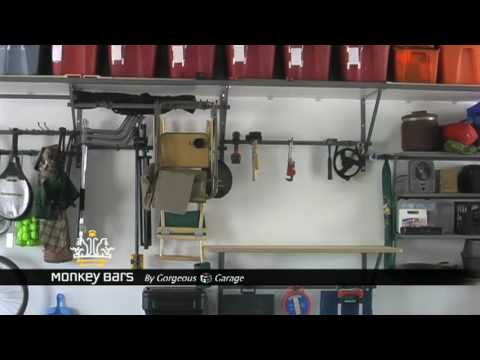 Introduction To Monkey Bars Garage Storage Solutions   YouTube
