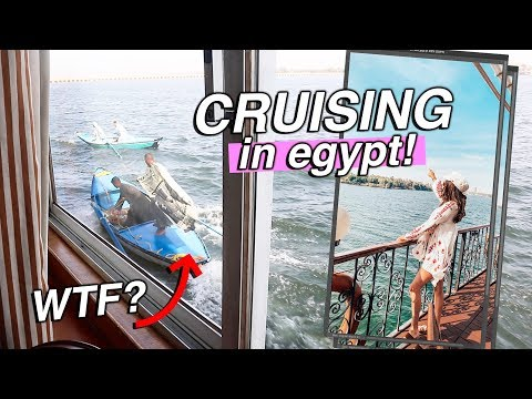 CRUISE VLOGS!! I'm on a cruise in EGYPT!