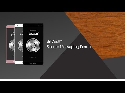 BitVault® Secure Messaging Demo by Embedded Downloads