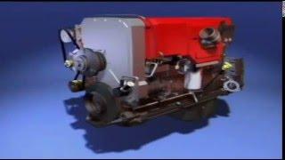 Мотор Cummins QSX15: трехмерная модель