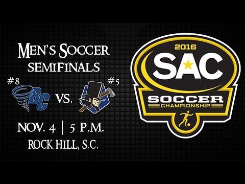 2016 SAC Men's Soccer Semifinals - #8 Brevard vs. #5 Lincoln Memorial