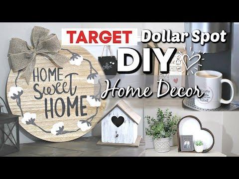 Target Dollar Spot DIY Home Decor | DIY Farmhouse Home Decor | Krafts by Katelyn