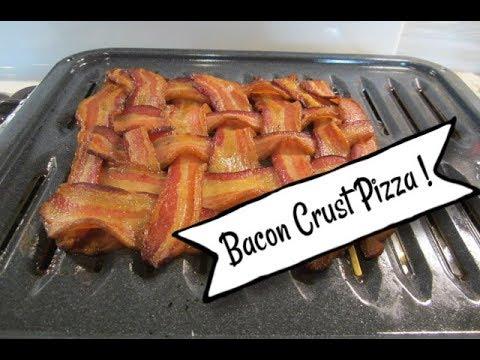 Bacon Crust Pizza