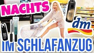 Ich vlogge NACHTS im SCHLAFANZUG meinen LIVE DM HAUL | XLAETA
