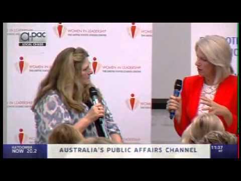 Telling Women's Stories - Carol Giacomo Women in Leadership Breakfast