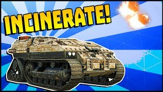 Crossout - Incinerator Catapults Are Actually Amazing (Crossout Gameplay)
