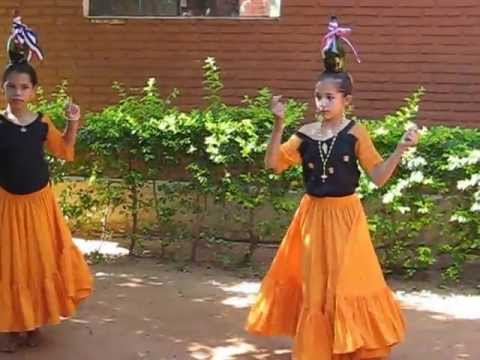 Traditional Paraguayan Bottle Dance