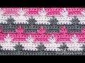 How to Crochet Spike Stitch Cluster - Stitchorama by Naztazia