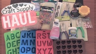 Craft Supply HAUL ✂ SoCraftastic Thumbnail