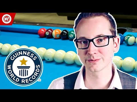 Thumbnail: Guinness World Records | Pool Trick Shots