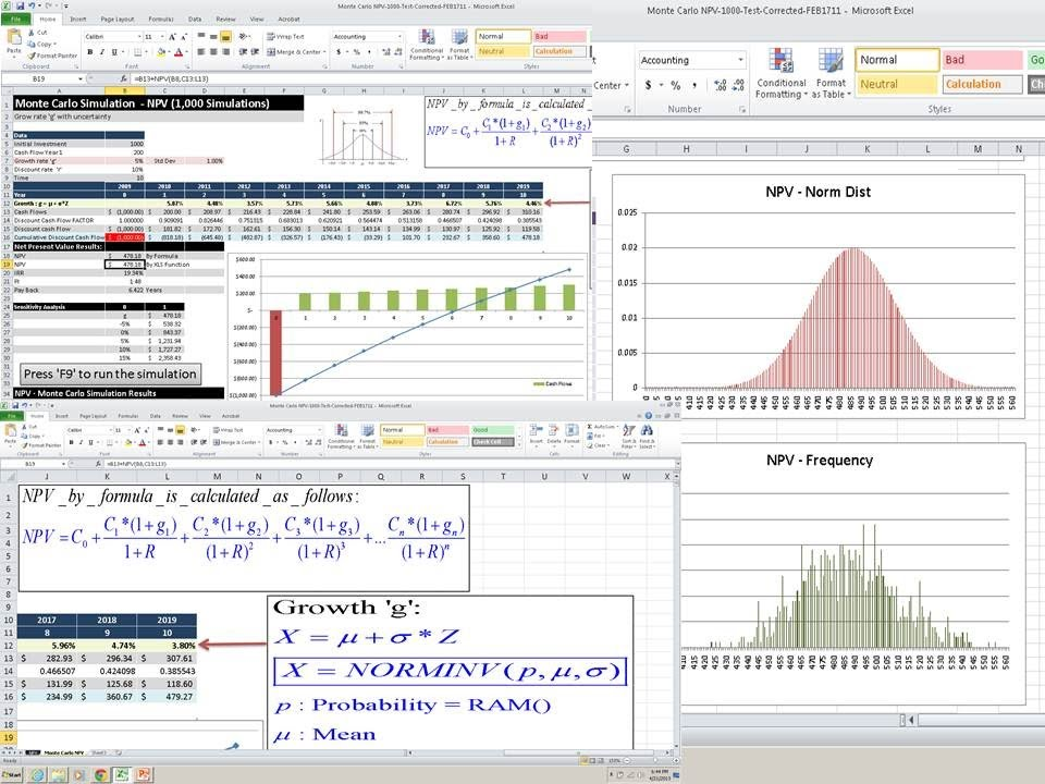 simulation monte carlo excel - Towerssconstruction