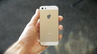 New Gold iPhone 5S Sneak Peek (vs iPhone 5 Teardown)